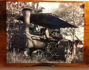 Antique Steam Engine Wall Art