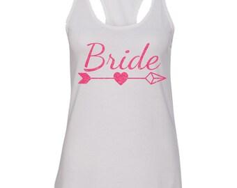 BRIDE with TRIBE Bachelorette Tank