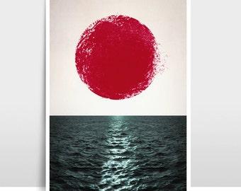 """A3 Artprint """"Sunset"""""""