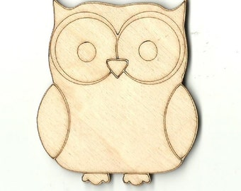 Owl Cut Out Etsy
