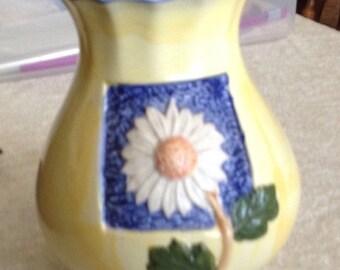 Wonderful Sunflower Ceramic Vase