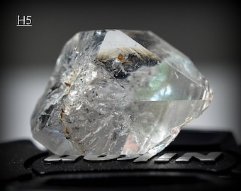 One (1) Genuine Herkimer, NY, Herkimer Diamond (The One Pictured)  -  D.T. Herkimer Quartz Crystal