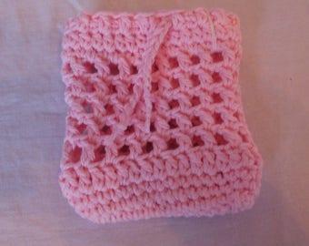Crochet Soap Cozy; Crochet Soap Holder; Crochet Soap Pouch