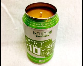 Beer Scent Beer Can CANdle