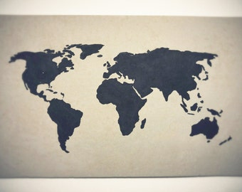 World Pin-Up Map