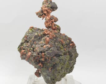 Large Natural Sculpture of Copper Crystals from Michigan