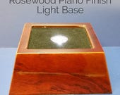 Crystal Cube Light Base S...
