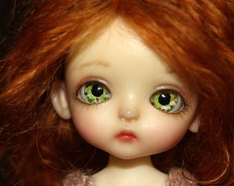 NEW! Hand-painted eyes 8 mm for BJD Dolls / realistic eyes for dolls / BJD Acrylic eyes
