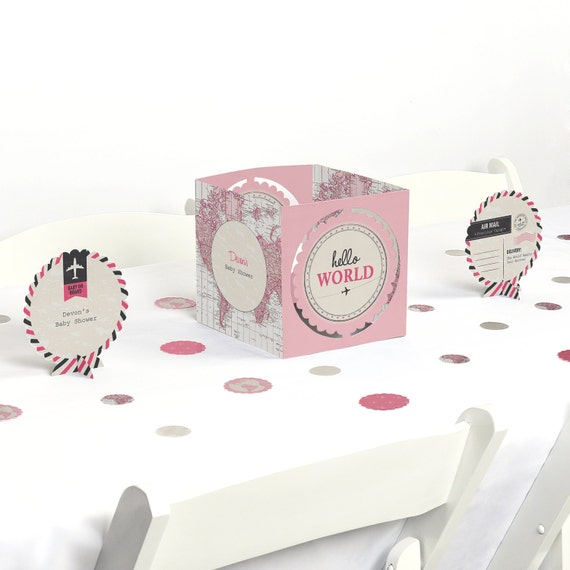 Precious cargo pink centerpiece table decoration kit
