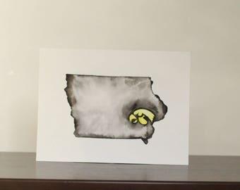 University of Iowa Watercolor