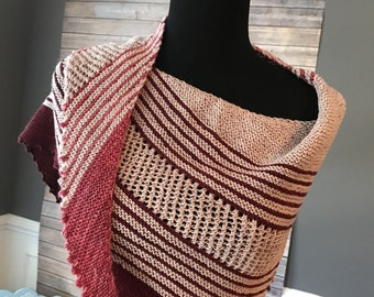 Old Lace & Rubies Wrap