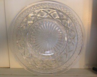 Cape Cod Plates by Imperial Glass