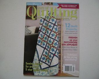 Love of Quilting Instruction Book