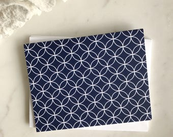 Circle Pattern Note Cards