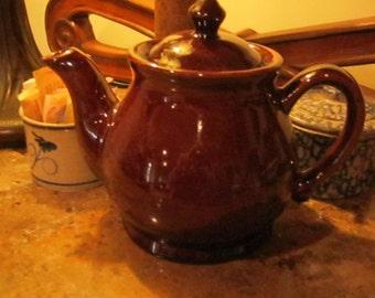 Pottery Brown  Tea Pot