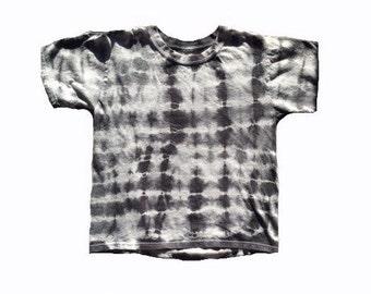 Tie Dye Youth T Shirt Shibori Style