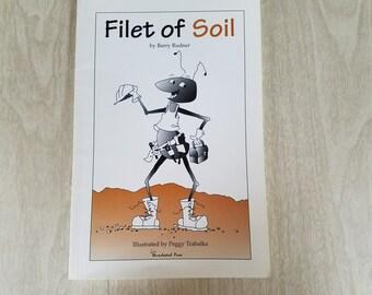 """Vintage Childrens Book by Barry Rudner """"Filet of Soil"""""""