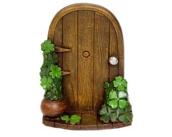 Fairy Garden Door Shamrock Set of 1 Miniatures - 516