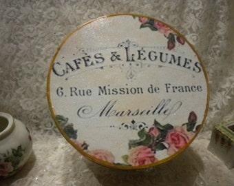 Shabby Chic / Vintage Paris Decorative Box