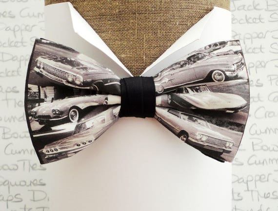 Bow ties for men, Bow ties, Chevrolet print bow tie, Chevy bow tie