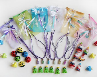 Fairy Party favor bag for a fairy birthday party or garden party
