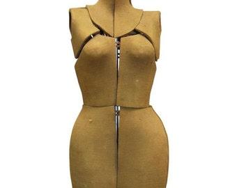 Vintage Adjustable Dress Form Mannequin