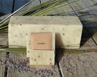 Natural Handmade Lavender Soap, Fresh handmade soap