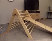 Pikler Slide - Fully Assembled - TRIANGLE Sold Separately