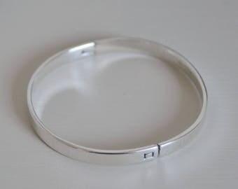 BRACELET in Silver 925/1000 flat ring (26.2 g) fdpc