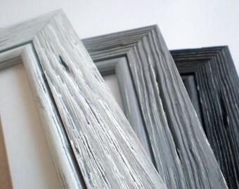 photo frame wood frame 11x14 frame driftwood frame choose colors distressed frame solid wood frame - Driftwood Picture Frames