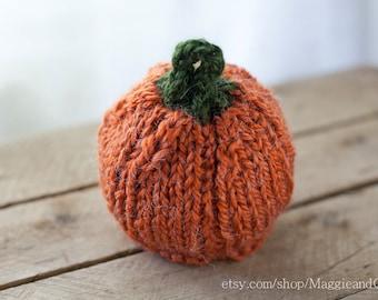Pumpkin Hat Newborn, Newborn Knit Hat, Alpaca Hat, Photo Prop, Newborn Hat, Newborn, Knit Hat, Newborn Pumpkin Hat, Fall Hat, Halloween Hat