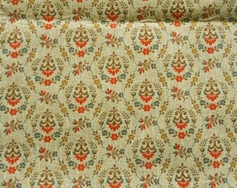 Vintage tapestry upholstery fabric