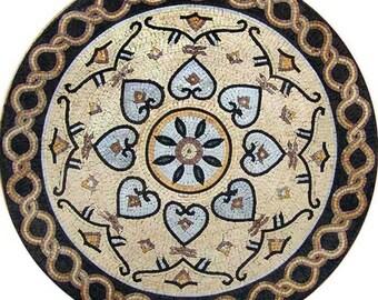 Medallion Pattern Mosaic Art