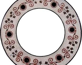 Round Frame Mosaic - Ivira