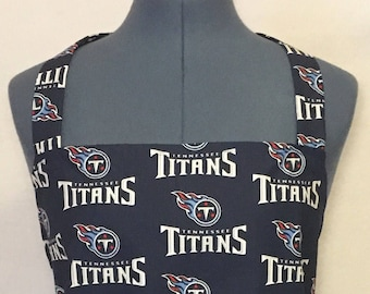 Tennessee Titans- Full Size BBQ Apron with Pockets