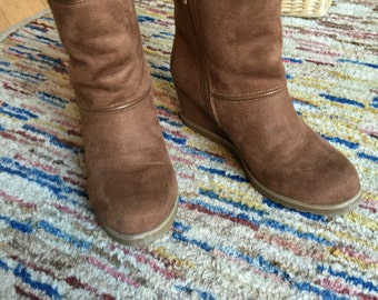 SALE - Brown Ankle Boots