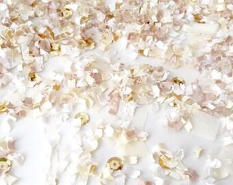 Wedding Confetti | Cream Confetti | Custom Confetti | Creme de la Creme | FREE SHIPPING*