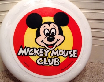 Mickey Mouse Club Frisbee - Vintage Mickey Mouse Club