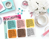"MCM MANTRAS: ""Serenity Prayer"" Paper Planner Stickers!"