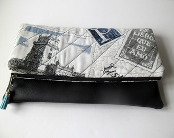 Gift Fold Over Clutch,envelope bag