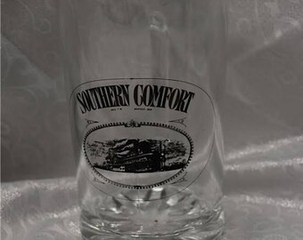 Rare Vintage Southern Comfort Glass Pitcher
