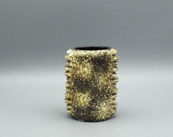"Dümler & Breiden rare Studio 61 Keramik  ,, City serie "" Space Age pottery  1970s  WGP vase,     West Germany"