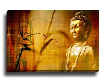Bamboo Buddha | Mirror Wrap Professional Canvas