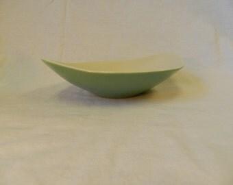 HTF Vintage Mid Century Ben Seibel Iroquois China Bowl - Sage Green, MCM, Informal