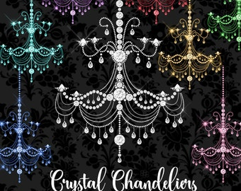 Chandelier Graphics Etsy