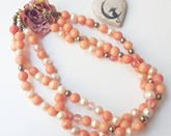 Necklace Peach