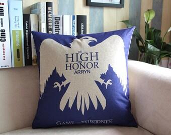 Game of thrones-HIGH HONNOR,ARRYN,pillowcase,45*45cm