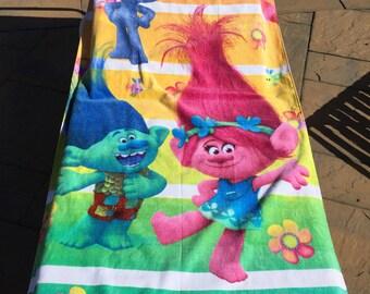 TROLLS Beach Towel - Personalized Beach Towel