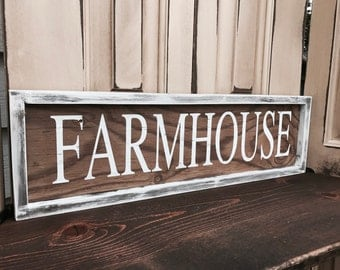 Farmhouse Decor- Farmers Market Sign- Farmhouse Style Decor- Rustic Home Decor - Farmhouse Sign- Rustic Farmhouse Wall Decor - Farmhouse