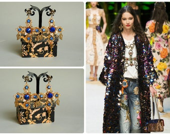 Ear-crosses Dolce Gabbana style - Vitoria